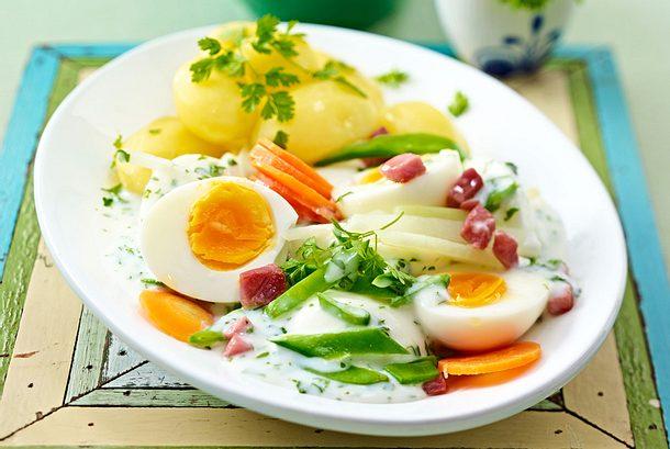 Eier-Ragout für kleines Geld Rezept