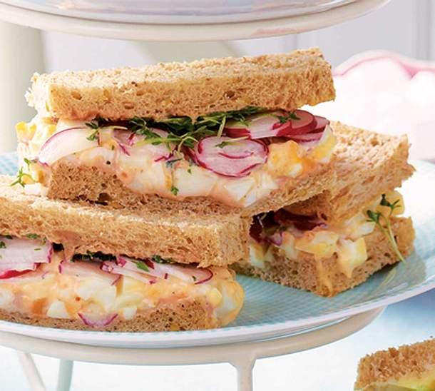 Eier-Sandwiches Rezept