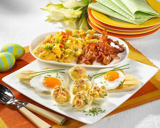 Eier-Träume (drei verschiedene Gerichte mit Ei) Rezept