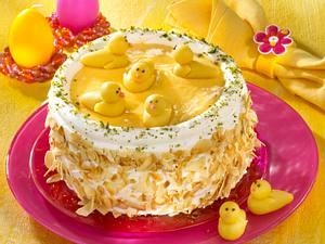 Eierlikör-Küken-Torte Rezept