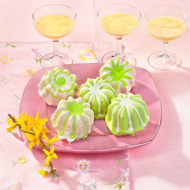 Eierlikör-Muffins mit Zuckerguss Rezept