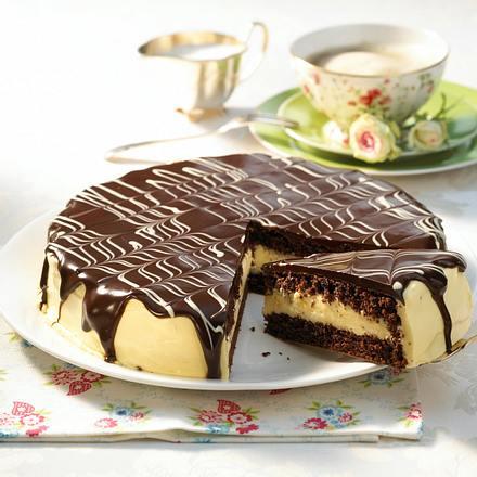 Eierlikör-Torte mit Schokoguss Rezept