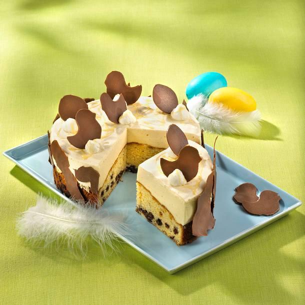 Eierlikörmousse-Torte Rezept