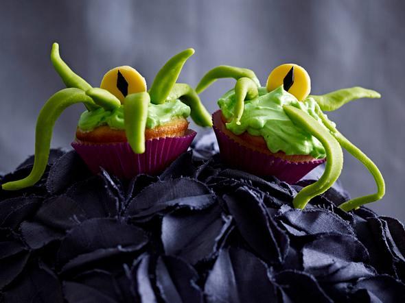 Einäugige Alien-Muffins Rezept