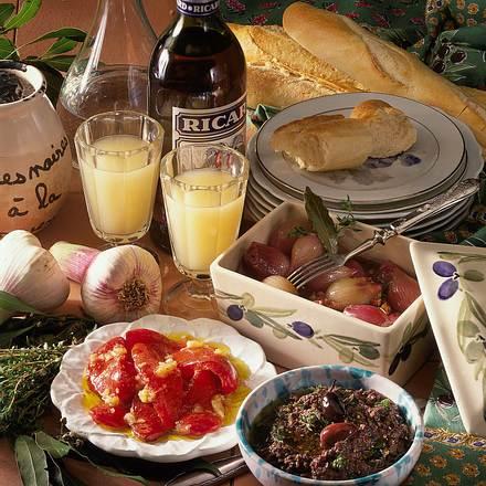 Eingelegte Paprika in Olivenöl mit Knoblauch Rezept