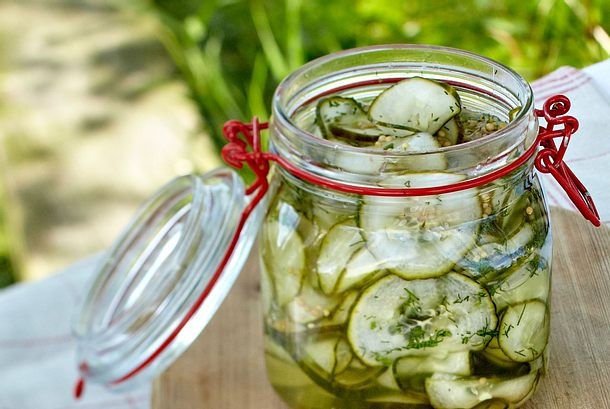Eingelegter Gurkensalat Rezept