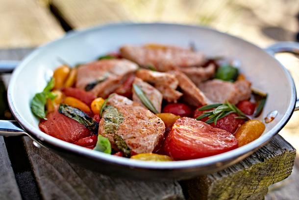 Eingelegter Thunfisch aus dem Ofen Rezept