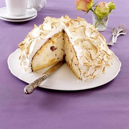 Eisberg-Torte mit Rumfrüchten Rezept