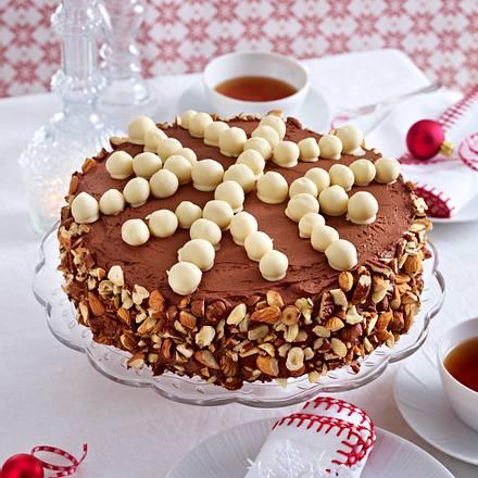 Eiskristall-Torte (Nuss-Mokka-Torte) Rezept