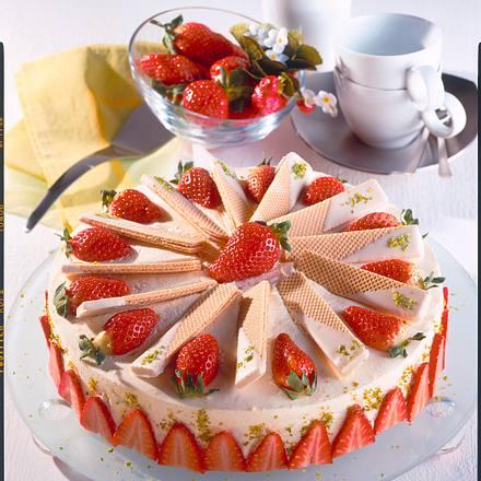 eiswaffel erdbeer torte rezept chefkoch rezepte auf kochen backen und schnelle. Black Bedroom Furniture Sets. Home Design Ideas