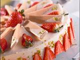 Eiswaffel-Erdbeer-Torte Rezept