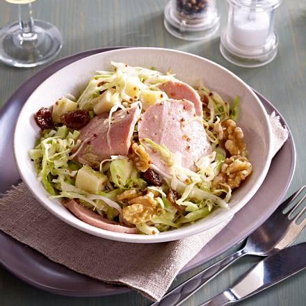 Elsässischer Herbst-Salat Rezept
