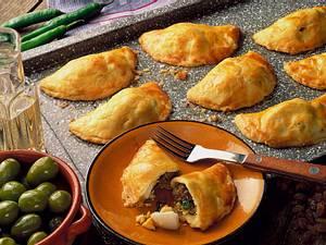 Empanadas de Horno (Gebackene Fleischtäschchen) Rezept