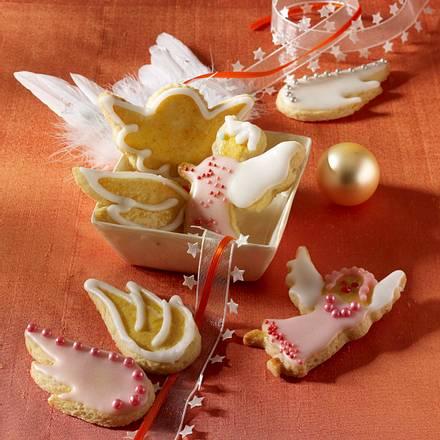 Engel und Engelflügel Kekse Rezept