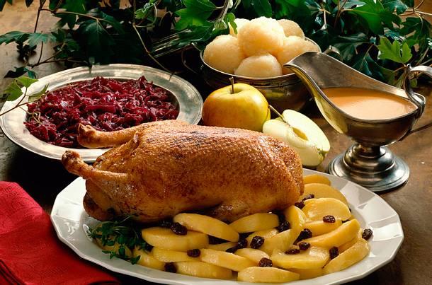 Ente mit Calvados-Äpfeln Rezept