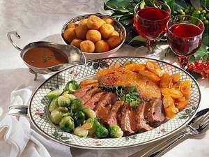 Entenbrust in Rotweinsoße und Kartoffelbällchen Rezept