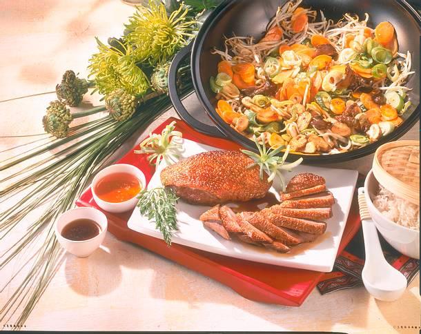 Entenbrust mit Asia-Gemüse Rezept