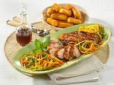 Entenbrust mit Balsamico-Gemüse Rezept