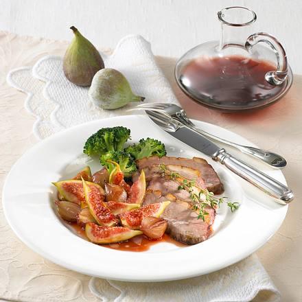 Entenbrust mit Portwein-Feigen Rezept