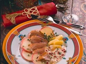 Entenbrust mit Preiselbeersoße Rezept
