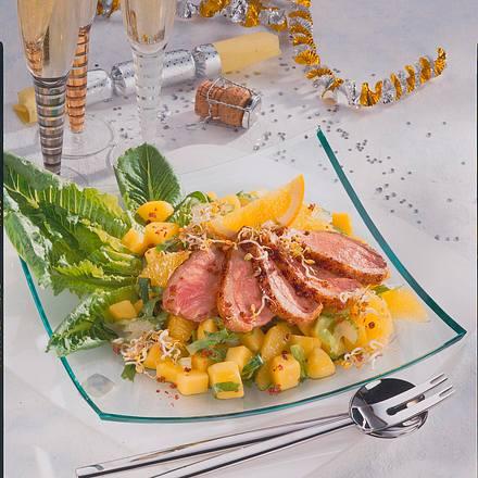 Entenbrust-Salat Rezept