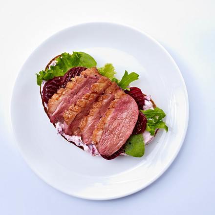 Entenbrust-Sandwich Rezept