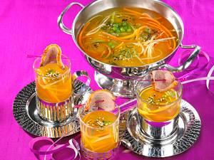 Entensuppe mit Suppengrün Rezept