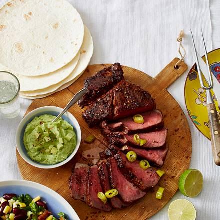 Entrecote a la Mexico Rezept