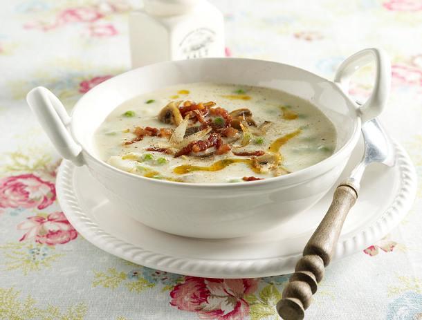 schnelle suppe mit erbsen und mais rezepte suchen. Black Bedroom Furniture Sets. Home Design Ideas
