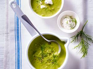 Erbsen-Spargel-Suppe Rezept