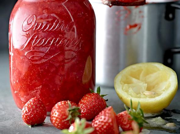 Erdbeer-Aperol-Konfitüre Rezept