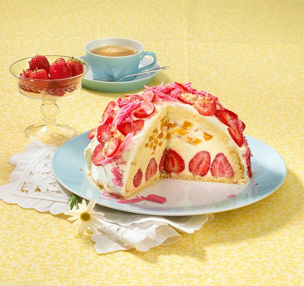 Erdbeer-Aprikosencharlotte Rezept