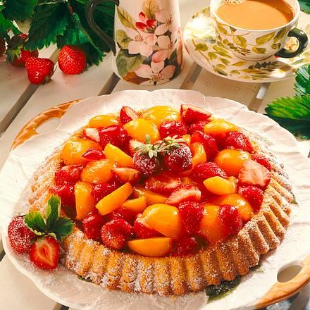 Erdbeer-Aprikosentorte Rezept