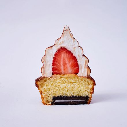 Erdbeer-Baiser-Muffin Rezept