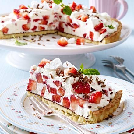 Erdbeer-Baiser-Tarte Rezept