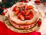 Erdbeer-Baisertorte Rezept