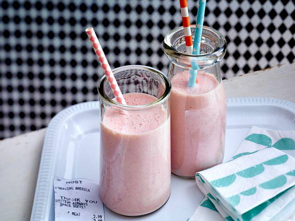 Erdbeer-Bananen-Smoothie Rezept
