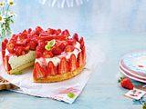 Erdbeer-Basilikum-Torte rezept
