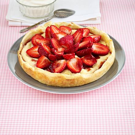 Erdbeer-Blätterteig-Tarte Rezept