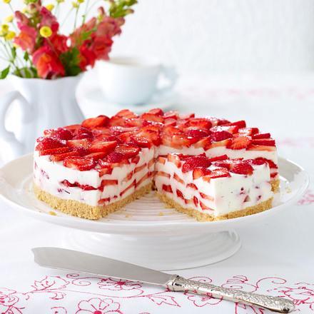 Erdbeer-Bottermelk-Torte Rezept