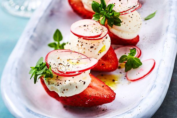 Erdbeer-Bouche Rezept