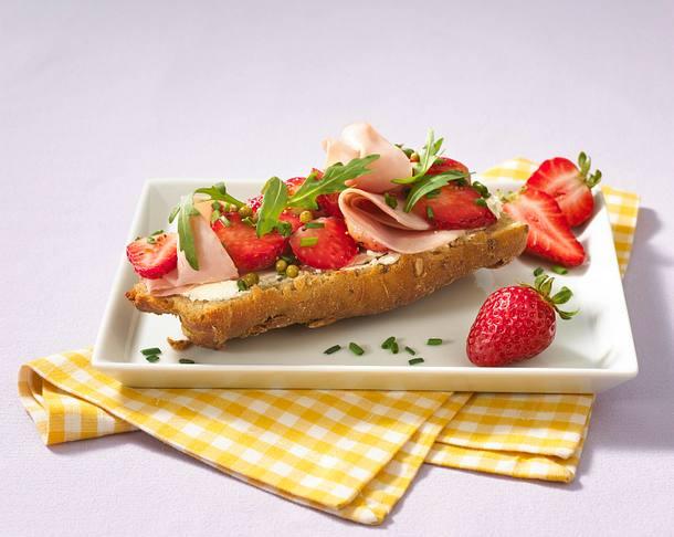 Erdbeer-Brot Rezept