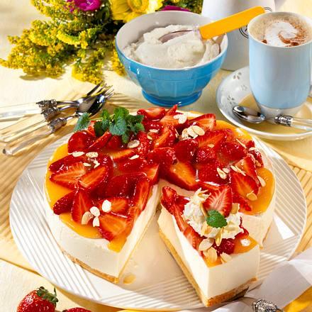 Erdbeer-Buttermilch-Torte Rezept