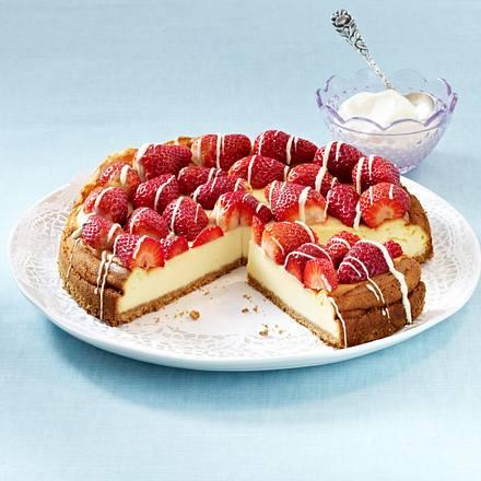 Erdbeer-Cheesecake Rezept