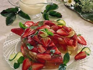 Erdbeer-Cidre-Gelee Rezept