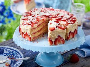 Erdbeer-Creme-Torte Rezept