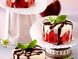 Erdbeer-Eistörtchen Rezept