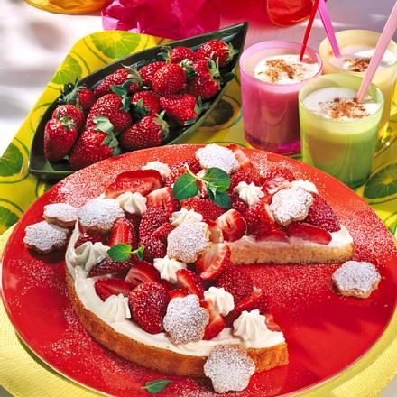 Erdbeer-Fantakuchen Rezept