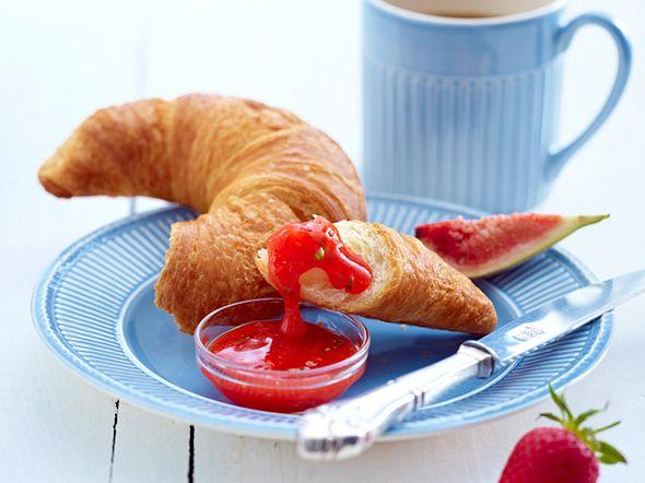 Erdbeer-Feigen-Basilikum Fruchtaufstrich Rezept