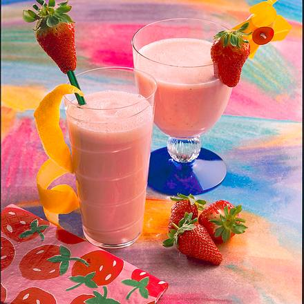 Erdbeer-Flip Rezept